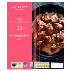 Waitrose Slow Cooked Veal With Madeira Sauce