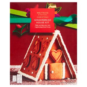 Waitrose Gingerbread House Kit