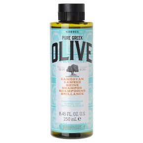 Korres Pure Greek Olive Shine Shampoo
