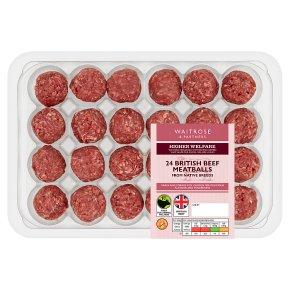 Waitrose Aberdeen Angus Beef Meatballs