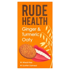 Rude Health Ginger & Turmeric Oaty