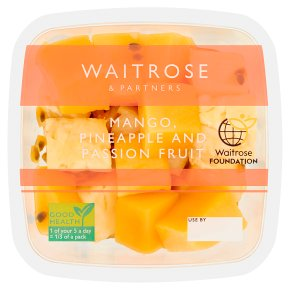 Waitrose Mango, Pineapple & Passion Fruit