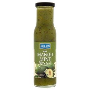 East End mango mint sauce