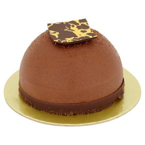 Chocolate & Salted Caramel Mousse Dome