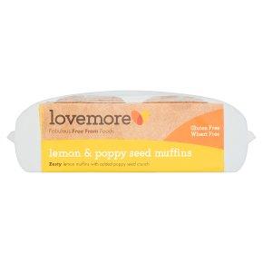 Lovemore 2 Lemon & Poppy Seed Muffins