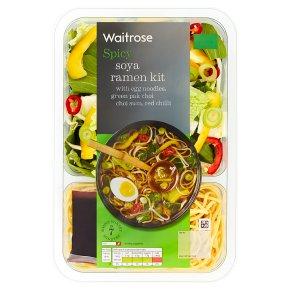 Waitrose Spicy Soy Ramen Kit