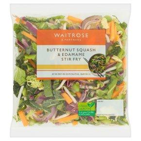 Waitrose Butternut Squash & Edamame Stir Fry