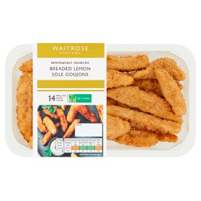 Waitrose Breaded Lemon Sole Goujons