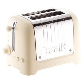 Dualit Cream Lite 2 slot toaster