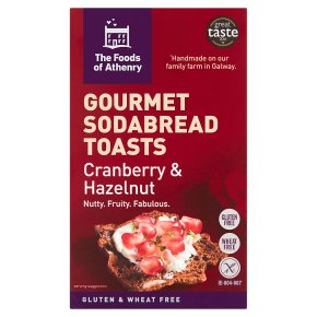 Foods of Athenry Cranberry Sodabread Toasts