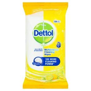 Dettol Multipurpose Wipes Citrus
