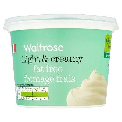 Fromage Frais | Waitrose & Partners