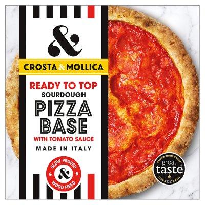 Crosta Mollica Pizza Base With Tomato Sauce
