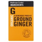 Waitrose Cooks' Ingredients organic ground ginger - 32g
