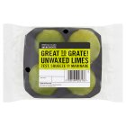Cooks' Ingredients Unwaxed Limes - 4s