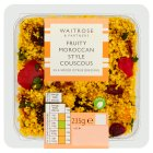 Waitrose Moroccan Spiced Fruity Couscous - 235g