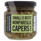 Waitrose Cooks' Ingredients nonpareille capers - drained 95g