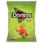Doritos hint of lime sharing tortilla crisps - 180g
