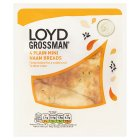 Loyd Grossman Plain Mini Naans - 4s