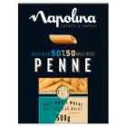 Napolina 50/50 penne pasta - 500g