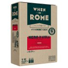 When in Rome Nero d'Avola Siciliy - 2.25litre Buyers Choice