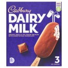 Cadbury Dairy Milk 3 luxury ice creams - 3x100ml