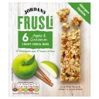 Jordans frusli bars juicy apples & sultanas with a hint of cinnamon - 6x30g