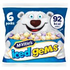 McVities iced gems - 6x25g