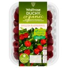 Waitrose Duchy Organic frozen English raspberries - 200g