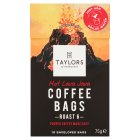 Taylors Hot Lava Java Coffee Bags - 75g