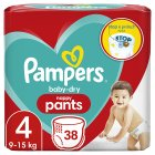 Pampers Baby-Dry Pants Size 4 - 40s