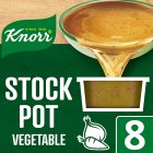 Knorr vegetable 8 pack stock pot - 8x28g