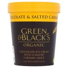 Green & Black's Chocolate & Salted Caramel Ice Cream - 500ml