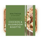 Waitrose Italian Chicken and Mushroom Risotto - 400g