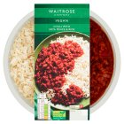 Waitrose Vegetarian Chilli with Soya Mince & Rice - 400g