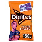Doritos tangy cheese sharing tortilla crisps - 180g