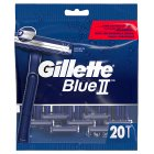 Gillette Blue II Disposable Razors 20 count - 20s