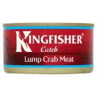 Kingfisher Whole Lump Crab Meat - drained 105g