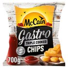 McCain Triple Cooked Gastro Chips - 700g