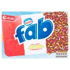 Nestlé fab strawberry 6s - 6x58ml
