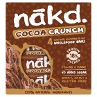 Nakd cocoa crunch fruit, crunchies & nut bars - 4x30g