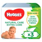 Baby Wipes Extra Care Natural (3x56s)